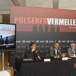 Rueda de prensa de la presentación de la segunda temporada de 'Pulseras Rojas'