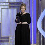 Adele recoge su Globo de Oro 2013 por Skyfall