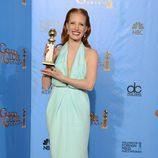 """Jessica Chastain, Globo de Oro 2013 a Mejor Actriz Dramática por """"La noche más oscura"""""""