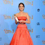 Jennifer Lawrence, Mejor Actriz de Comedia o Musical en los Globos de Oro 2013