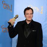 """Quentin Tarantino, Mejor Guión por """"Django desencadenado"""" en los Globos de Oro 2013"""