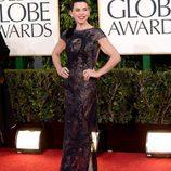 Julianna Margulies de 'The Good Wife' en los Globos de Oro 2013