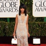 Kerry Washington, de 'Scandal', en los Globos de Oro 2013