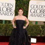 Debra Messing, de 'Smash', en los Globos de Oro 2013