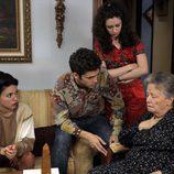 La abuela Herminia preocupada por el golpe de estado