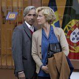 Antonio y Mercedes viajan a Valencia para estar con Inés
