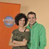 Rocío Madrid y Álex Casademunt, concursantes de 'Expedición imposible'