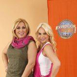 Raquel Mosquera y Leticia Sabater, concursantes de 'Expedición imposible'