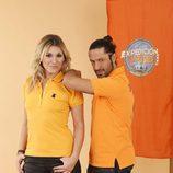 Yolanda Jiménez y Rafael Amargo, concursantes de 'Expedición imposible'