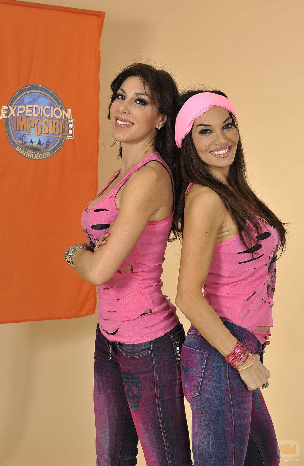 María y Romy Abradelo, concursantes de 'Expedición imposible'