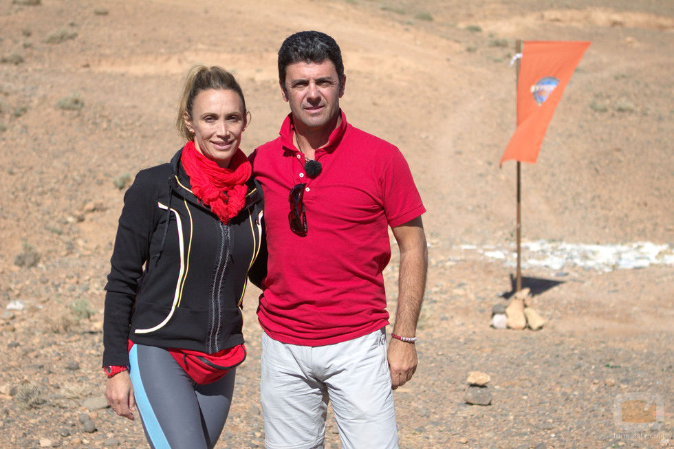 Cristina Sánchez y Alejandro Da Silva, concursantes de 'Expedición imposible'