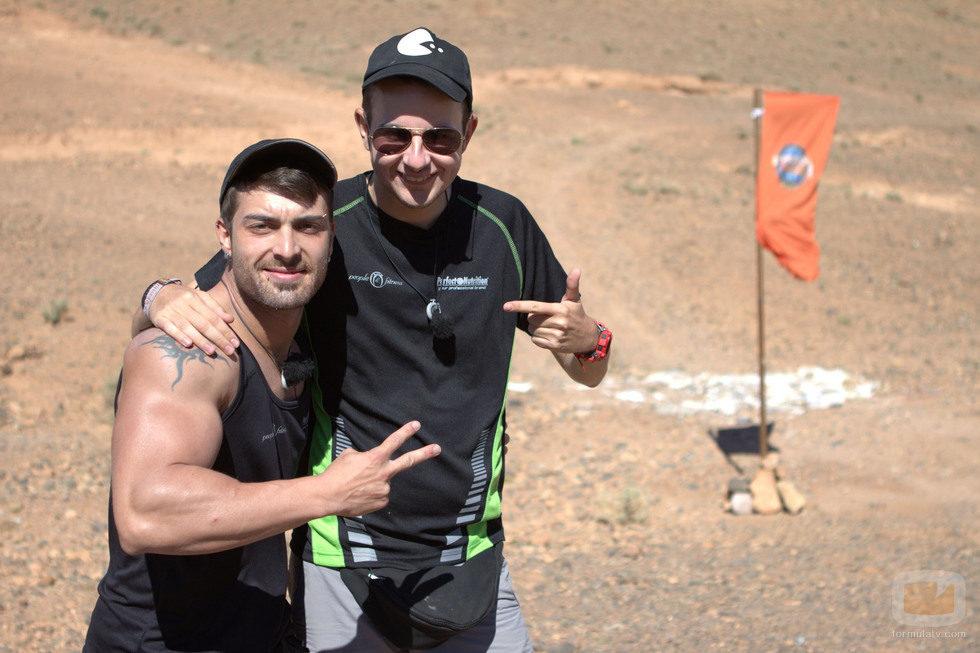Daniel del Río y David Olid, concursantes de 'Expedición imposible'
