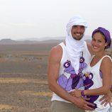 Felipe López y Mireia Canalda, concursantes de 'Expedición imposible'