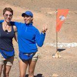 Lola González y Marbelys Zamora, concursantes de 'Expedición imposible'