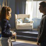 Leticia Dolera y Mario Casas en la tercera temporada de 'El barco'