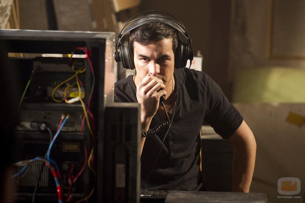 Mario Casas en la tercera temporada de 'El barco'