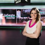 Andrea Ropero, copresentadora de 'laSexta Noche'