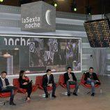 Iñaki López en la rueda de prensa de presentación de 'laSexta Noche'