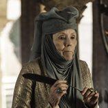 Diana Rigg es Lady Olenna Redwyne, la Reina de las Espinas en 'Juego de tronos'