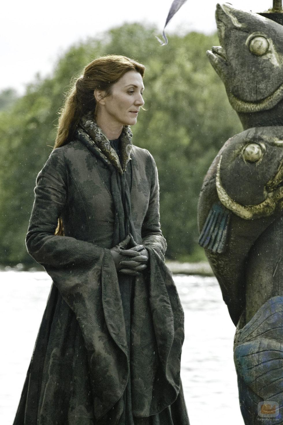 Michelle Fairley es Lady Catelyn Tully en 'Juego de tronos'