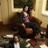 Lucy Liu y Jonny Lee Miller, protagonistas de 'Elementary'