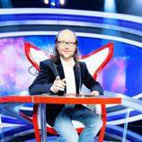 Santiago Segura en la silla de 'Increíbles. El gran desafío'