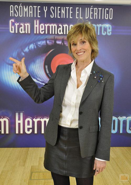 Mercedes Milá en la presentación de 'GH14'