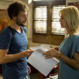 Sara y Raúl Pando en la segunda temporada de 'Luna, el misterio de Calenda'