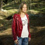 Leire en el bosque en la segunda temporada de 'Luna, el misterio de Calenda'