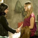 Vera y Leire juntas en la segunda temporada de 'Luna, el misterio de Calenda'
