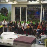 Los concursantes de 'Gran Hermano catorce' hablan con Mercedes Milá