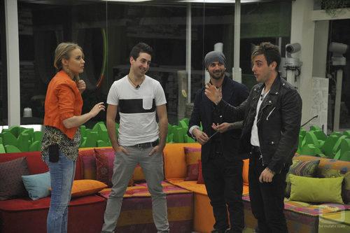 Giuls, Igor, Danny e Iván de 'Gran Hermano catorce'