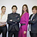 Samantha Vallejo-Nájera, Pepe Rodríguez, Eva González y Jordi Cruz