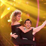 """Anna Simon y Santiago Segura homenajean a """"Grease"""" en la final de 'Tu cara me suena'"""