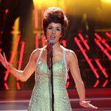 Roko como Shirley Bassey en la gala final de 'Tu cara me suena'