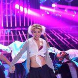 Natalia, invitada especial en la gala final de 'Tu cara me suenta', imita a Britney Spears