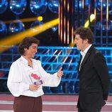 Ángeles Muñóz recibe el premio Dulzura en la gala final de 'Tu cara me suena'