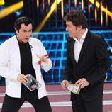 Santiago Segura recibe el premio Amargura en la final de 'Tu cara me suena'