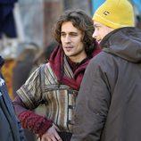 Martín Rivas en pleno rodaje de la nueva TV Movie de Mediaset España 'Romeo y Julieta'