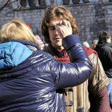 Imagen del rodaje de la TV Movie de Mediaset España 'Romeo y Julieta'