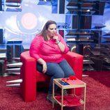 Lorena nominando en la segunda gala de 'Gran Hermano catorce'
