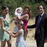Julia, Salomé, De la Cuadra y Valeria en el último capítulo de 'El Barco'