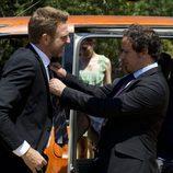 De la Cuadra y Ricardo juntos en el último episodio de 'El Barco'