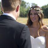 Ainhoa vestida de novia en el último capítulo de 'El Barco'