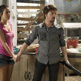 Max retiene a Ainhoa en el último episodio de 'El Barco'