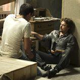 Ulises conversando con Max en el último episodio de 'El Barco'
