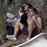 Ramiro, Piti y Palomares juntos en el final de 'El Barco'