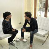 Bárbara Goenaga y Marc Clotet dialogando