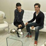 Bárbara Goenaga y Marc Clotet posando juntos