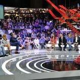 Frank Blanco presentando su primera gala de 'Gran Hermano: El debate'